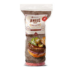 Member's Mark by Jensen Ground Angus Beef Patties (1/3 lb patties, 18 ct.)