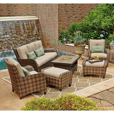 member 39 s mark essex 6 piece patio seating set sam 39 s club On outdoor furniture essex