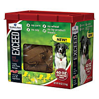 Member's Mark Exceed Dog Treats, Lamb & Peas (40 oz.)