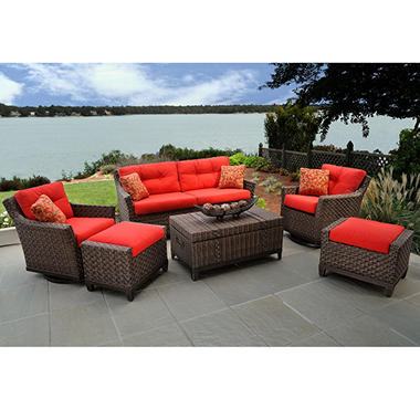 Metro Deep Seating Outdoor Patio Furniture Set - 6 pc.
