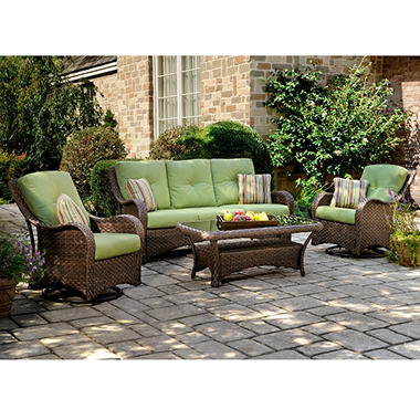 Palm Key Deep Seating Set - 4 pc.