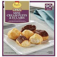 Daily Chef Mini Cream Puffs and Eclairs (90 ct.)