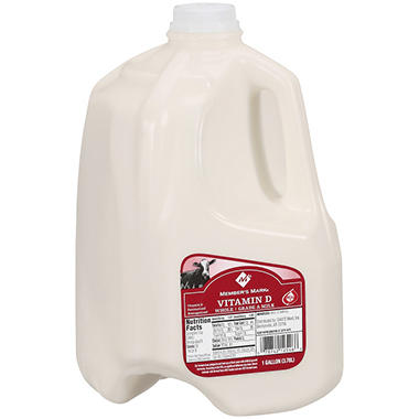 Member's Mark Vitamin D Whole Milk - 1 gal.