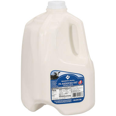 Member's Mark® 2% Reduced Fat Milk - 1 gal.