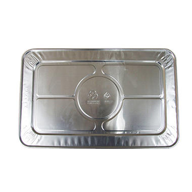 Bakers & Chefs Steam Table Aluminum Foil Lid - Full Size - 15 ct.