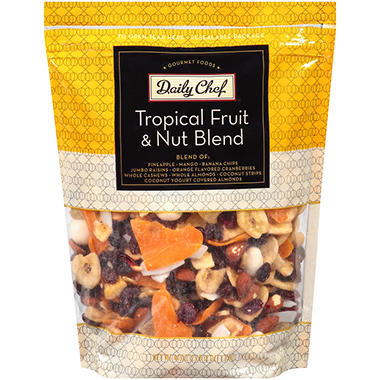 Daily Chef Tropical Fruit & Nut Blend - 44 oz.