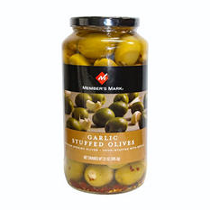 Member's Mark - Garlic Stuffed Olives - 21 ozs.