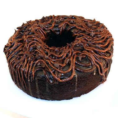 Artisan Fresh Triple Chocolate Bundt Cake - 48 ozs.
