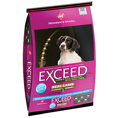 Member's Mark� Exceed Lamb & Rice Dog Food - 44 lbs.
