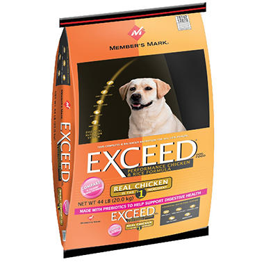 Member's Mark® Exceed Chicken & Rice Dog Food - 44 lbs.