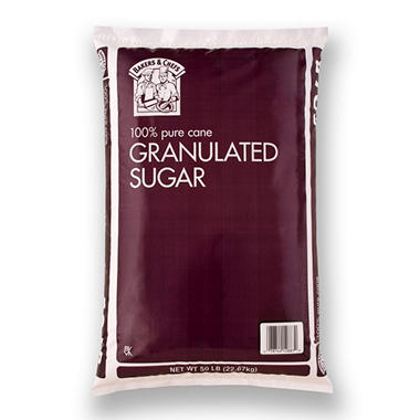 Bakers & Chefs™ Pure Cane Sugar - 50 lbs.