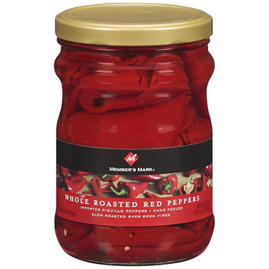 Member's Mark� Whole Roasted Red Peppers - 33.5 oz.