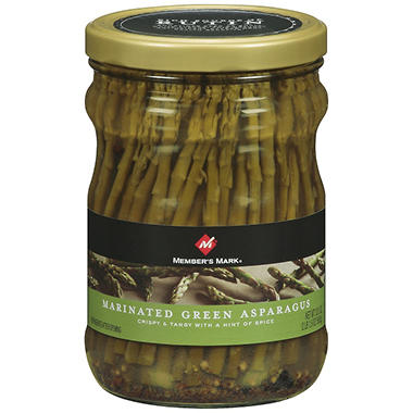 Member's Mark� Marinated Green Asparagus - 33.5 oz.