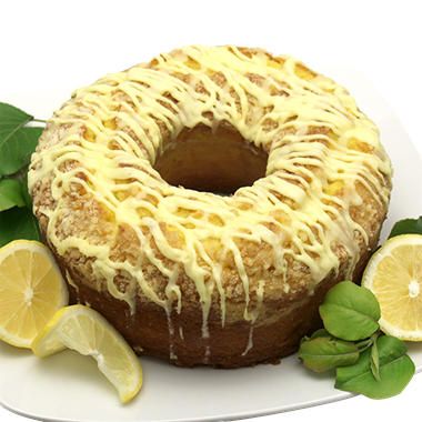 Artisan Fresh Lemon Crunch Bundt Cake - 50 oz.