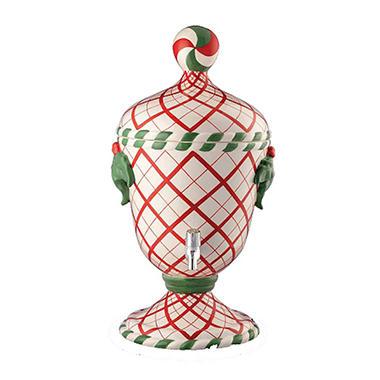 Trophy Beverage Jar -  Diamond Pattern