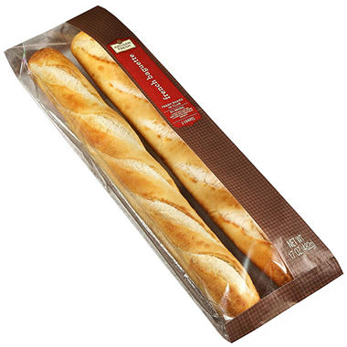 Artisan Fresh French Baguette - 2 ct.