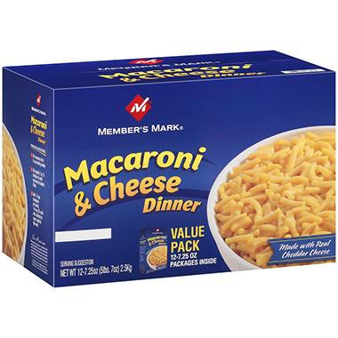 Member's Mark Macaroni & Cheese Dinner (12 pk.)