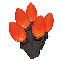 Member's Mark Halloween LED C4 Lights, Orange (100 ct.)