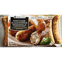 Member's Mark Sweet Basil Black Pepper & Mozzarella Cheese Chicken Sausage (16 links)