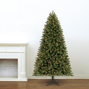 7.5' Member's Mark Artificial Pre-Lit LED Scotch Pine ...