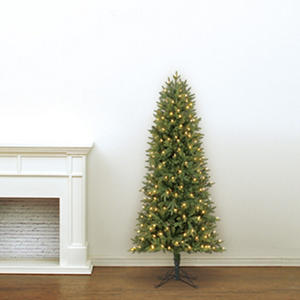 5.5' Member's Mark Artificial Pre-Lit LED Dawson Pine Simple Shape Christmas Tree