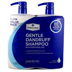Member's Mark Gentle Dandruff Shampoo, Fresh Scent (40 fl. oz., 2 pk.)