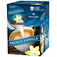 Member's Mark French Vanilla Non-Dairy Creamer Singles (192 ct.)
