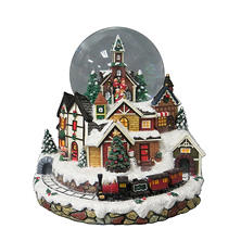 Member's Mark Musical Snow Globe Village