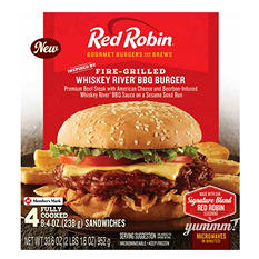 Red Robin Whiskey River Burgers (4 ct.)