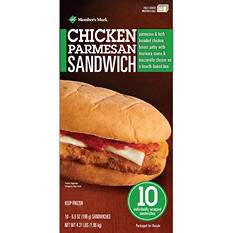 Member's Mark Chicken Parmesan Sandwich (10 ct.)