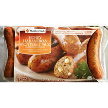Member's Mark Honey Habanero & Monterey Jack Chicken Sausage (16 links)