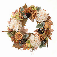 "Member's Mark 26"" Harvest Wreath, Cool Tones"