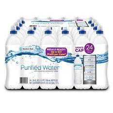 Member's Mark Purified Water (24 oz., 24 pk.)