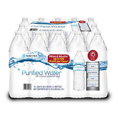 Member's Mark Purified Water (1 L, 15 pk.)