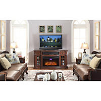 Richmond Electric Fireplace Media Console with Wi-Fi