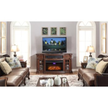 Richmond Electric Fireplace Media Console