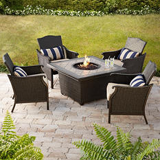 Member's Mark by Agio Heritage Fire Chat  with Premium Sunbrella Fabric