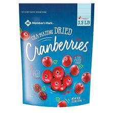 Member's Mark Dried Natural Cranberries (56 oz.)