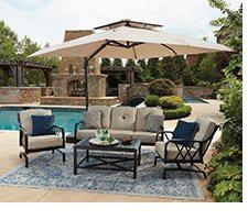 Member S Mark Millers Creek Sunbrella Seating Set Sam S Club