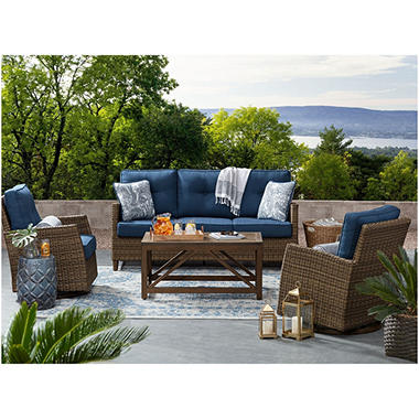 Members Mark Agio Collection Fremont Seating Set Sam s Club