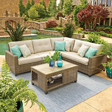 Member's Mark Park Place Sectional with Sunbrella Fabric by Agio