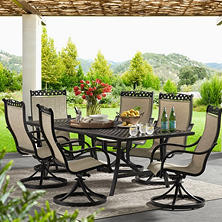 Member's Mark Milller's Creek 7-Piece Cast Dining Set