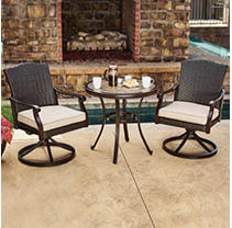 Member's Mark Agio Collection Heritage Bistro Set