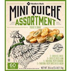 Member's Mark Mini Quiche Assortment (60 ct.)