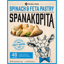 Member's Mark Spanakopita (48 ct.)