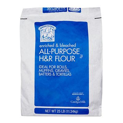 Bakers & Chefs All Purpose Flour - 25 lb. bag