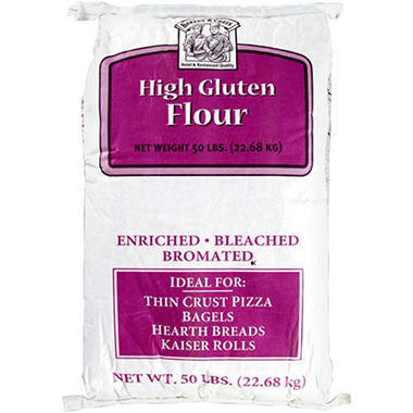 Bakers & Chefs High Gluten Flour - 50 lb. bag