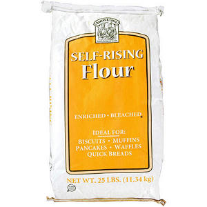 Bakers & Chefs Self Rising Flour - 25 lb. bag