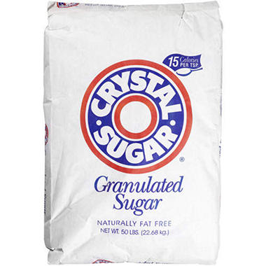 Crystal Sugar® Granulated Sugar - 50 lbs.