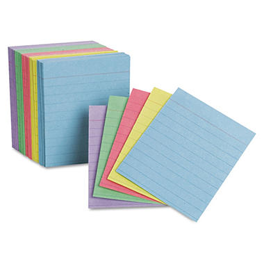 Oxford - Mini Index Cards, Ruled, 3 x 2-1/2